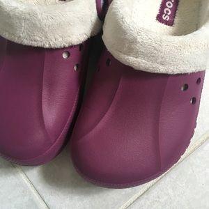 5971ad0f4ad093 CROCS Shoes - Crocs Blitzen Polar Fleece Lined Clog